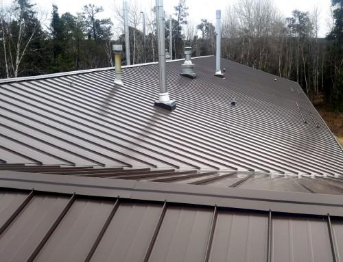Angled Metal Roof